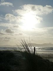 The sand dunes in Anglesey on 2 January 2012