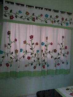 Cortina flor