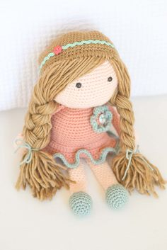 The Daphne Doll by Down Grapevine Lane, pattern: http://www.ravelry.com/patterns/library/daphne-doll