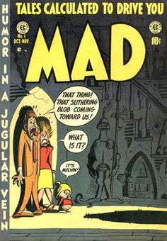 Mad #1, Oct-Nov 1952, was published by EC Comics.  Due to problems with the Comics Code Authority, it changed to a magazine format with issue #24.  It continues to publish today.