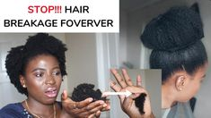 HOW TO STOP NATURAL HAIR BREAKAGE & SHEDDING