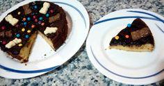 Tarta perfumada de almendras y naranja Waffles, Breakfast, Food, Almonds, Crack Cake, Orange, Pies, Morning Coffee, Essen
