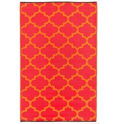 Kess InHouse Theresa Giolzetti Dragon Tail Red Orange Table Runner