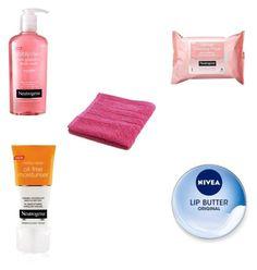 Designer Clothes, Shoes & Bags for Women Nivea Lip Butter, Cleanse Me, Neutrogena, Moisturiser, Face, Polyvore, Beauty, Design, Women