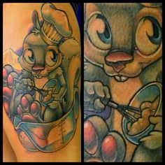 #pastry #chef #squirrel #tattoo #finished #fun #rodent #ithinktheresahairinmycoffecake (Taken with Instagram)