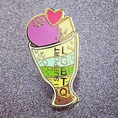 Support Love Pride Pin