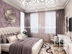 Дизайн квартиры в стиле арт-деко. Фото спальни. Фото 2017 - Дизайн квартир