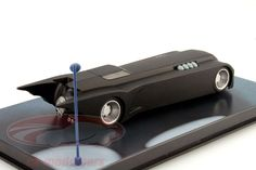 CK-Modelcars - BAT1992#8: Batmobile Batman The Animated Series 1992 schwarz 1:43 Ixo Altaya