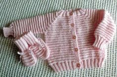 Baby Raglan Sweater Knitting Pattern