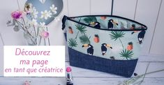 Et voila ! Couture Sewing, Facebook Sign Up, Crochet, Bags, Voici, Fabricant, Sewing Projects, Tutorial Sewing, Tutorials