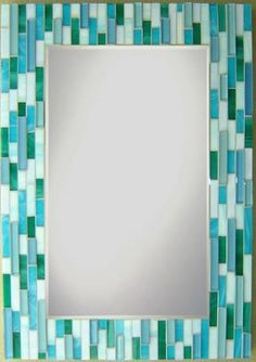 Other Mosaic Mirrors Contemporary Bathroom