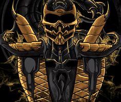 Mortal Kombat Scorpion, Mortal Kombat Art, Mortal Kombat X Wallpapers, Game Logo, Abh, Video Game Characters, Dragon Ball Z, Horror Movies, Playstation