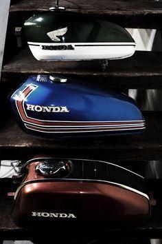Honda tanks - Via Big Boyz Toyz