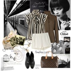 A fashion look from September 2012 featuring Ted Baker jackets, rag & bone shorts and Paul Smith boots. Browse and shop related looks.