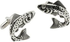 Fish Cufflinks by Cuff-Daddy Cuff-Daddy. $28.99. Arrives in hard-sided, presentation box suitable for gifting.. Made by Cuff-Daddy