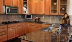 Uba Tuba granite kitchen countertop photo