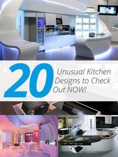 20 Unusual Kitchen Designs to Check Out Completing this entire list of unusual kitchens took a really long while. Why? Because at some point, I am not sure how unusual is unusual. Is it maybe too modern? Too high-tech? To rustic or what. Then I came to a conclusion that an unusual kitchen...