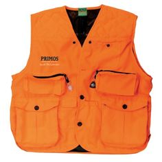 Primos Gunhunter's Vest (Blaze Orange, X-Large) - OMJ Outdoors