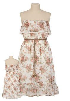 Spring dress with a bit of a country feel. Would probably pair with cowgirl boots to complete the look $39