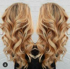 Caramel blonde