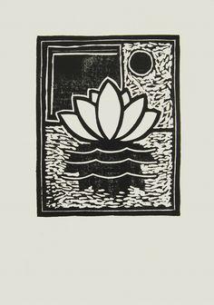 """andrea mattiello """"Vibrazione sull'acqua""""   adigrafia su cartone vegetale cm 36x51,5  tir. da 1/7 a 7/7 + 1 P.d.A.; 2012"""