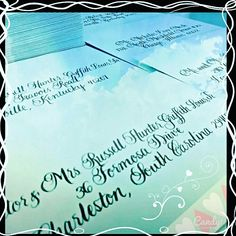 Balmoral calligraphy script ✒ #calligraphy #weddinginspiration #weddingcalligraphy #weddinginvitations #getcreative #becreative #instawedding #weddingideas #instahit #lettering #nationwidecalligraphy #nationwidecalligrapher #calligraphybyjennifer