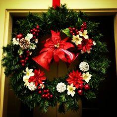 Christmas handmade wreath