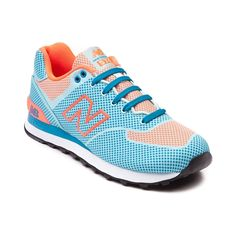 Shop for Womens New Balance 574 Athletic Shoe in Blue Orange at Journeys Shoes. Shop today for the hottest brands in mens shoes and womens shoes at Journeys.com.Stand out in style with the New Balance 574! Featuring sick new color combinations the high visibility sneaker boasts a brilliant synthetic upper with blue and orange highlights, lace-up front closure, padded tongue and collar for comfort and support, EVA molded midsole, and durable rubber outsole for grip and traction. Only ...