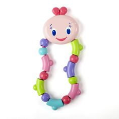 """Bright Starts Pretty in Pink Twist & Teethe - Bright Starts - Babies """"R"""" Us Babies R Us, Baby Kids, Cute Maternity Shirts, Fisher Price Baby Toys, Travel Systems For Baby, Teething Toys, Special Needs Kids, Everything Baby, Baby Games"""