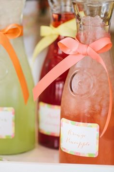 Mother's Day Brunch Ideas // LOVE these beautiful juice carafes, can use these at any summer party via The Tom Kat Studio #foodstyling #hgtv