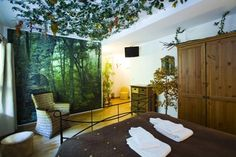 Rooms Deluxe Hostel in Valencia: This hostel offers spacious, quirkily-decorated guestrooms with themes like 'Buddhist temple' and 'Moroccan' as well as free internet access, a lounge and kitchen for cooking up meals.
