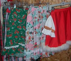 lots of Christmas skirts - long and short Christmas Skirt, Office Christmas Party, Christmas Costumes, Tie Dye Skirt, Off Shoulder Blouse, Skirts, Collection, Tops, Women