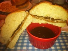 VEGAN AU JUS. There were so many recipes out there, I didn't know which to choose. So I combined them!  via @SparkPeople