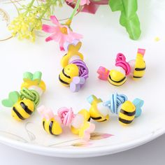 Children Hair Accessories Scrunchy Rubber Headbands Candy Color Bee Fish Hair Ring Gum for Hair Baby Girls  Elastic Hair Band♦️ SMS - F A S H I O N 💢👉🏿 http://www.sms.hr/products/children-hair-accessories-scrunchy-rubber-headbands-candy-color-bee-fish-hair-ring-gum-for-hair-baby-girls-elastic-hair-band/ US $0.43
