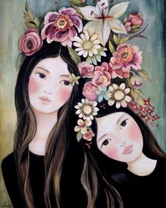 sisters by claudiatremblay..Do YOU have a sister??  I have 7:):) and 2 brothers:):)