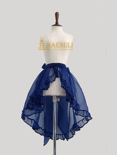 Organza+Over-skirt Item+Type+:+Over-skirt+(Accesory+for+coord+item) Size+:+one+size-+++No+Custom+size. Colorway+:+Navy+/+Black+/+Baby+Blue/+White++-+4+colors Price+:+70+usd  -+Shipping+- Only+EMS+:+18+usd,+Tracking+number+included,+takes+3-7+business+days,+insurance/+Plastic+bag+dubble+p...