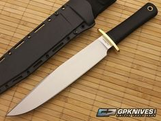 Cold Steel Trail Master. One of the very best knifes money can buy. It's on my list.