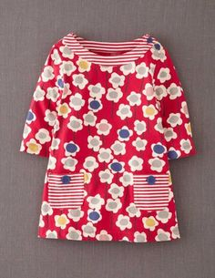 I've+spotted+this+@BodenClothing+Printed+Tunic+Scarlet+Daisy