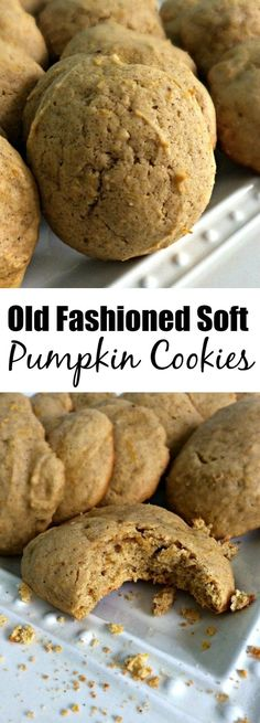 These old fashioned soft pumpkin cookies are simple, yet so flavorful, and perfect for fall! Your friends and family will just love them!