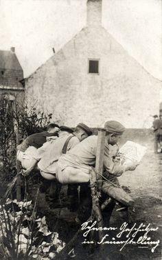 WW1 Latrine, Pit Toilets and Outhouses | DeepFryYourHead.com