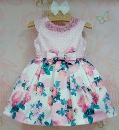 Vestido de Festa Infantil Ariel - Petit Cherie