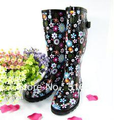 Multi Colored Rain Boots - Boot Hto