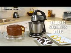 Mix like a pro with this two-in-one hand mixer and stand mixer from Hamilton Beach featuring an included Shift & Stir bowl. Best Stand Mixer, Hand Mixer, Hamilton Beach, Handstand, Lp, Classic, Desserts, Derby, Tailgate Desserts