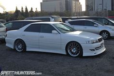 Lovely JZX100 Toyota Chaser at Osaka Auto Messe (via @Speedhunters . )