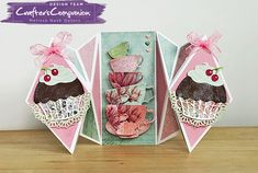 She's a Color Queen! #crafterscompanion #hsncrafts #hsn #ccgemini #teaparty #diecutting