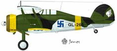 Finnish Gloster Gladiator.