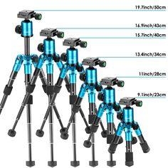 Neewer 20 centimeters Portable Compact Desktop Macro Mini Tripod with 360 Degree Ball inches Quick Release PlateBag for DSLR CameraVideo Camcorderup to 11 kilograms Blue >>> You can get additional details at the image link. (This is an affiliate link) Camera Tripod, Slr Camera, Things To Come, Good Things, Types Of Cameras, How To Level Ground, Camcorder, Aluminium Alloy, Travel Photography