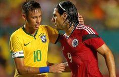 Brasil y Colombia reviven el Mundial en duelo a vida o muerte para cafeteros  - Brasil y Colombia reviven este miércoles su enfrentamiento en los cuartos de final del Mundial 2014 en un partido en el que los cafeteros se juegan s...