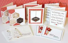 Lisa's Creative Corner: October Project Kit - Holly Jolly Christmas Card Kit