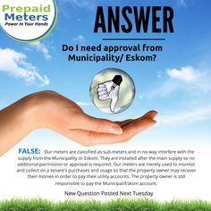 Answer 10: Do I need approval from the Municipality or Eskom?